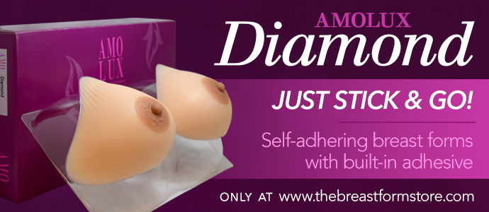 Amolux Diamond Breast Forms